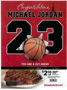 Dominick's MJ Ad. Image Credit: Lexis Nexis