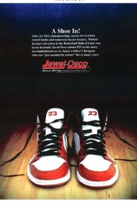 Jewel-Osco MJ Ad. Image Credit: Wall Street Journal